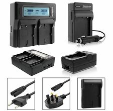 LP-E6 Dual LCD Single Camera Battery Charger for Canon 6D 70D 80D 7D 5D Mark 3 4