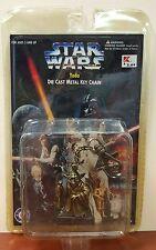 1997 Vintage Star Wars Yoda Die Cast Key Chain Lucas Film Collectors Series Nip