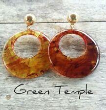 Butterfly Resin Drop/Dangle Fashion Earrings
