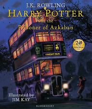 Harry Potter and the Prisoner of Azkaban: Illustrated Edition Book, J.K. Rowling