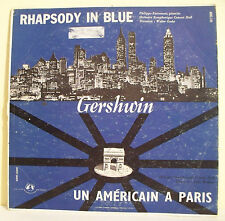 33T 25cm GERSHWIN Disque RHAPSODY IN BLUE -UN AMERICAIN A PARIS Piano - GID 149