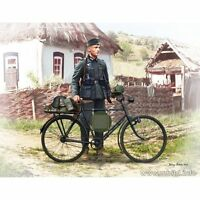 !!!NEW!!! GERMAN SOLDIER-BICYCLIST, 1939-1942 1/35 MASTER BOX 35171 DE