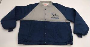 NEW Vtg Dallas Cowboys Swingster Nylon Jacket NWOT Button Up XXL 2XL Deadstock
