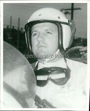 1960s AJ Foyt Champion HOF Auto Racing Driver Original News Service Photo