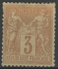 "FRANCE STAMP TIMBRE N° 86 "" SAGE 3c BISTRE - JAUNE "" NEUF x TB A VOIR  N400"