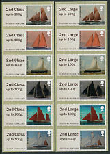 NCR ERRORS 2nd + 2nd LARGE WORKING SAIL STRIPS/6 ERROR HASTINGS POST & GO