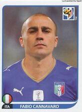 N°413 FABIO CANNAVARO # ITALIA STICKER PANINI WORLD CUP SOUTH AFRICA 2010