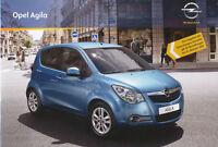 Opel Agila Prospekt 2010 4/10 brochure Autoprospekt prospectus catalog Auto Pkw