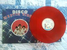 LP -- MARTIN CIRCUS -- DISCO -- couleur  rouge Rare