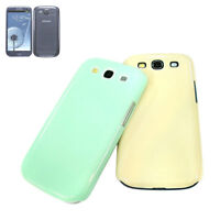 Multi Color Hard Phone Case for Samsung Galaxy S3 SIII I9300 Mint Green Yellow