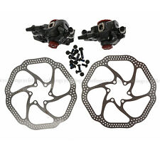 Avid BB7 Mechanical Disc Brake Front and Rear Calipers 160mm HS1 Rotors