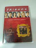 Friends Segunda Temporada 2 Completa - 4 x DVD Español Ingles