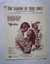 Vintage La Sombra De Tu Sonrisa-el andarríos Partituras-Buen Estado