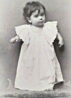 Vienna Austria CDV c.1900 Adorabale Baby Girl Angerer Carte De Visite Photo