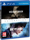 HEAVY RAIN & BEYOND DUE ANIME PS4 GIOCO PLAYSTATION 4 VIDEOGIOCO ITALIANO PROMO