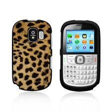 For Alcatel One Touch 871A Slim Protector Snap On Plastic Cover Case  Cheetah