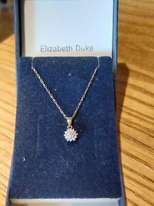 10pt Diamond- 9ct Gold Necklace