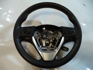 2014-2019 TOYOTA COROLLA OEM STEERING WHEEL WITH SWITCHES ASSEMBLY