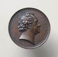 Germany bronze medal German writer GOETHE 1749-1832 In memory of 28 august 1849