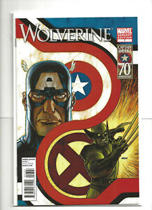 WOLVERINE #7 Captain America 70th Anniversary Variant Cover 2011 Marvel Comics