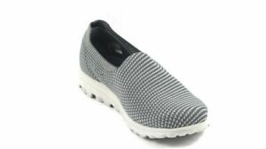 Skechers Go Walk Slip-On Shoes Classic Favorite Charcoal US 9 Wide NEW