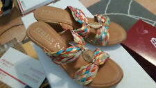 Itialian Shoemakers Womens 9.5US Carsons bright multi
