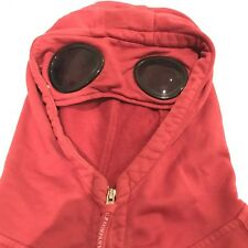 Cp Company ~ XL Red Goggle Lens Hooded Hoodie Jumper Lens Top Stone Island