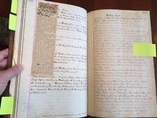 Handwritten North Carolina Genealogy Gallagher Ruffin O'Neill, Civil War Surgeon