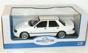 1/18 Ford Sierra Sapphire Cosworth - 1988 - White - Diecast Metal Model