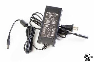 UL LISTED 9V 5A 45W power supply Class 2 AC adapter 5.5mm x 2.1mm DC plug