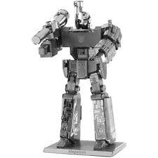 Megatron: Transformers Metal Earth 3d Corte Láser Miniatura Modelo Kit De 2 Hojas
