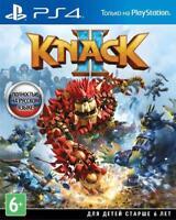 Knack 2 (PS4, 2017) Eng,Russian,German,Italian,French,Spanish,Arabic,Portuguese
