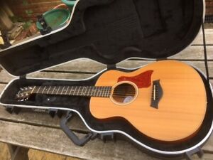Customised Taylor GS Mini Spruce with pickup, locking tuners & flight case