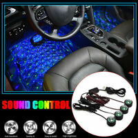 Car LED Atmosphere Lamp Sound Control Interior Ambient Star Light Decoration