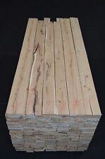4/4 Premium Rustic Hickory 20 Board Feet (Heavy Brown Heart)