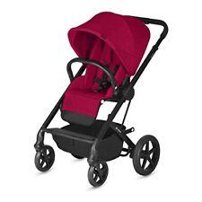 Poussettes et systèmes combinés de promenade rouges en tout terrain pour bébé