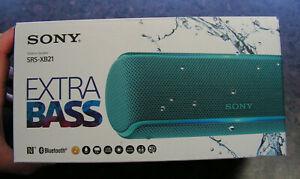 SONY SRS-XB21 WIRELESS SPEAKER - 12Hr Extra Bass + Waterproof - Brand New