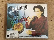 RARE KD LANG YOURE OK PROMO CD SNGLE K D LANG