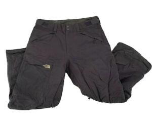 The North Face Men's Size Large HyVent Snow Pants Cargo Dark Gray Ski Snowboard
