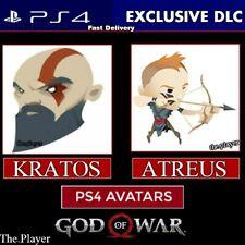 God Of WaR PS4 Exclusive Avatar Bundle | DLC | Playstation 4 PS4 [Digital Code]