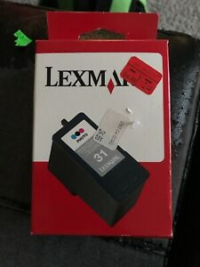 NEW Genuine Lexmark 31 Photo Color Ink Print Cartridge Never Opened.