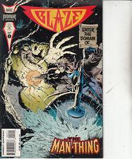 Blaze-Issue 2-Marvel Midnight Sons Comics  1994-Comic
