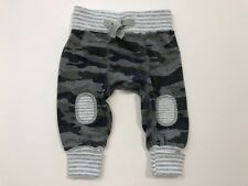 MUD PIE Boutique Baby Boys Gray Camouflage Knit Pants Size 0-3 Months
