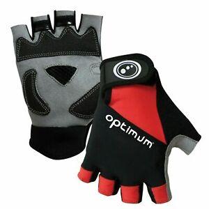 Hawkley Half Finger Cycling Gloves Optimum Sport Small