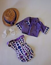 Vintage Deluxe Reading Capri Outfit Candy Fashion Lilac Ensemble Shoes No Doll
