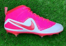 "Nike Trout ""Mother's Day"" Pink Men's Metal Baseball Cleats 917837-166 Size 9.5"