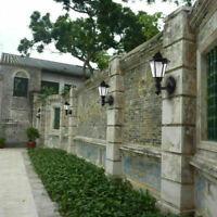 Lots Retro Solar LED Lantern Wall Lamp Pillar Light Garden Yard Patio Wall Light