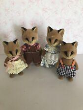 Sylvanian Families Vintage Reynard Fox Family