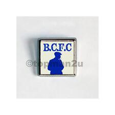 New, Quality Square Metal Pin Badge - BCFC Peaky Blinders - Retro
