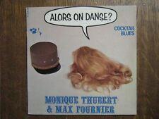 MONIQUE THUBERT MAX FOURNIER EP FRANCE COCKTAIL BLUES